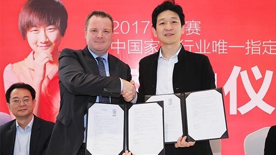 TATA Tongchuang welcomed as 2017 ITTF World Table Tennis Championships partner