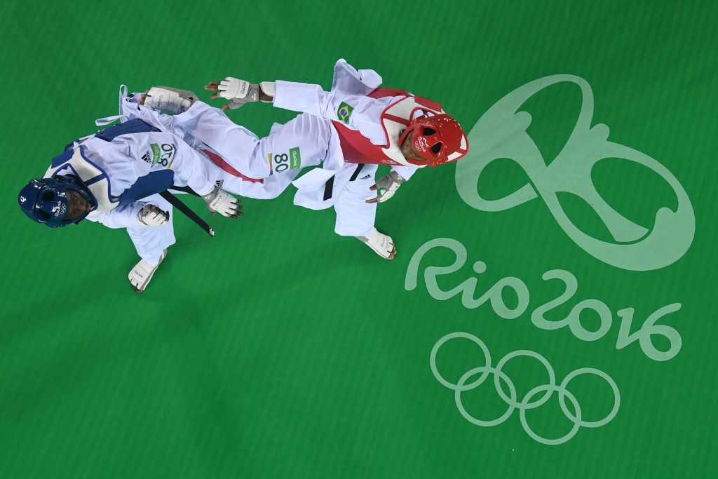 Carioca Arena 3 was home to taekwondo and fencing competitions at last year's Olympic Games ©Getty Images
