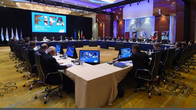 The decision was taken during a lengthy FIFA Council meeting today ©FIFA