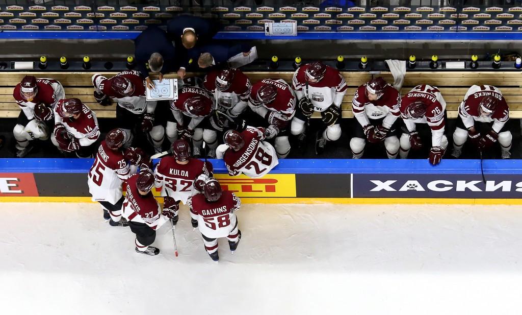 Latvia maintain strong start to IIHF Men's World Championships