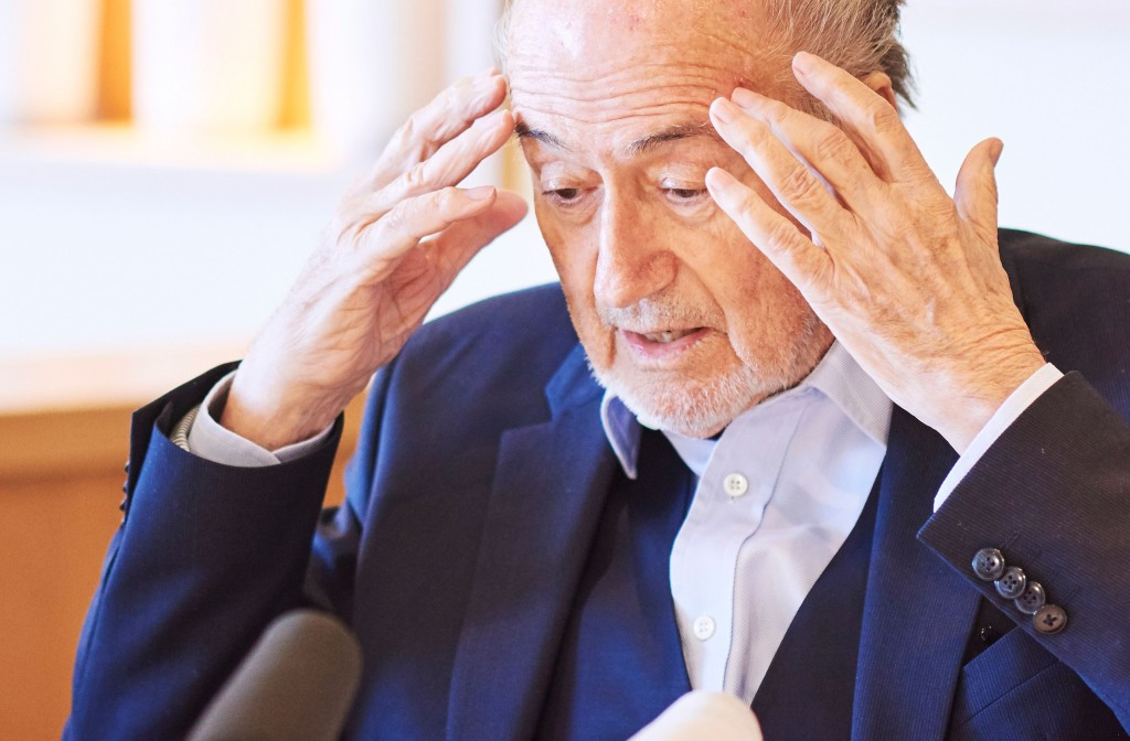 Hans-Joachim Eckert and Cornel Borbély have overseen numerous cases, including that of disgraced former FIFA President Sepp Blatter ©Getty Images