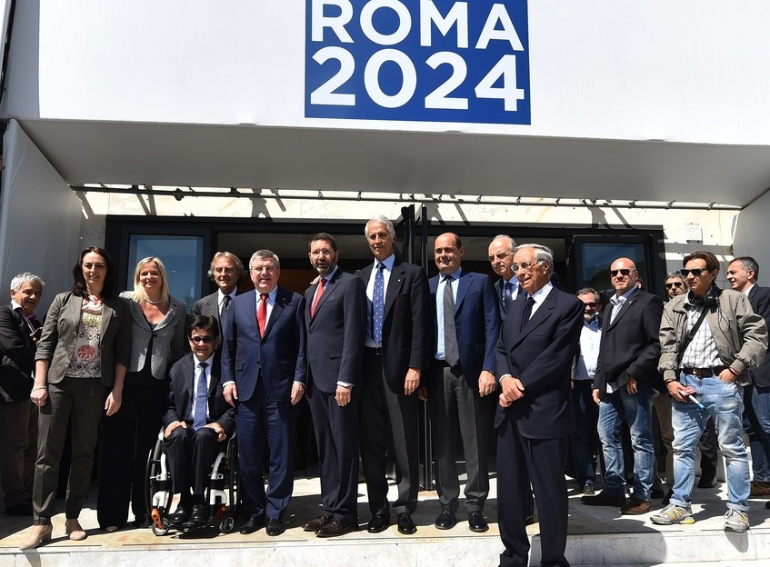 """No """"cathedrals in the desert"""" pledges Rome Mayor on latest Lausanne visit by a 2024 candidate"""