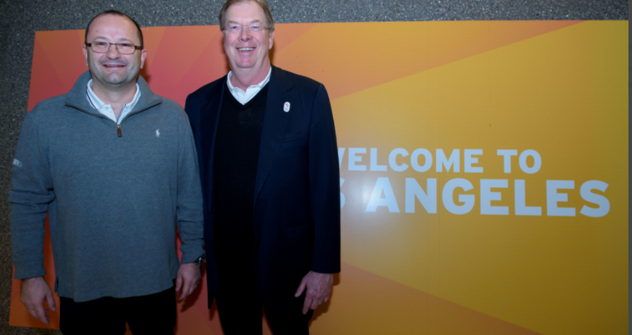 In pictures: IOC members arrive for Los Angeles 2024 Evaluation Commission inspection