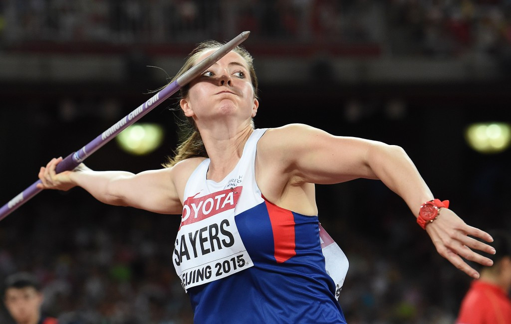 Olympic bronze medal-winning javelin thrower Goldie Sayers believes the proposal to rewrite records could be looked at in the more distant future ©Getty Images