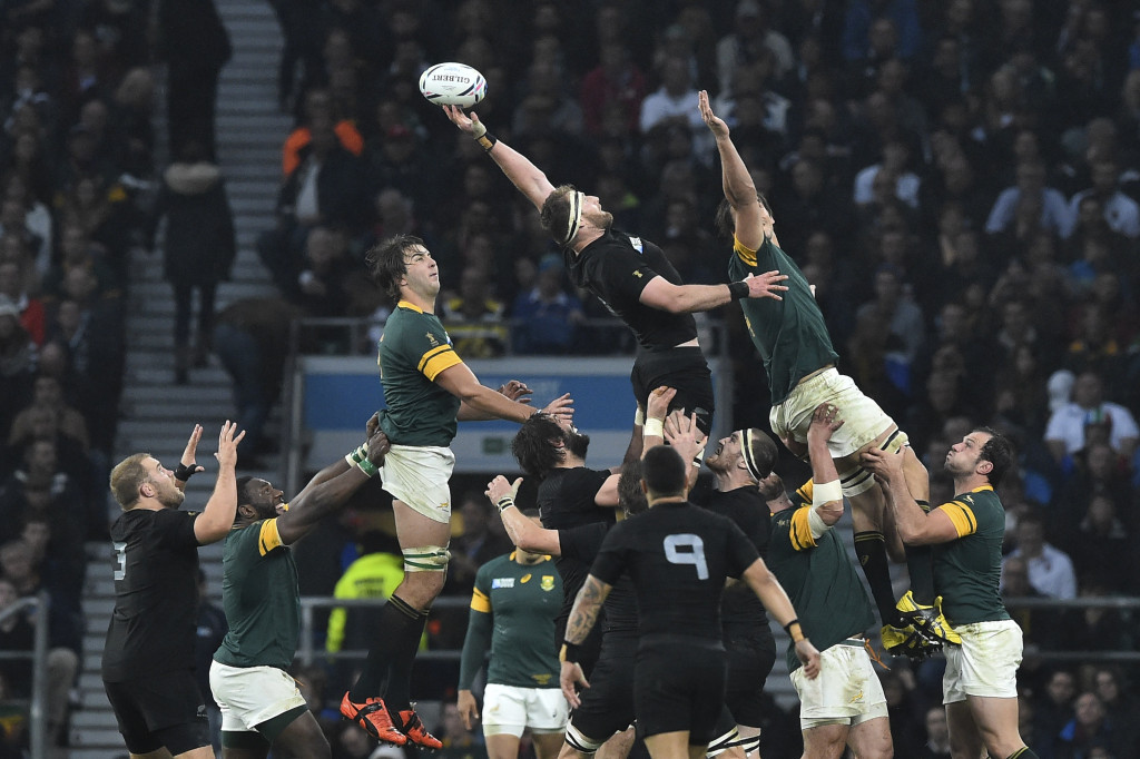New Zealand and South Africa to meet in 2019 Rugby World Cup pool stage