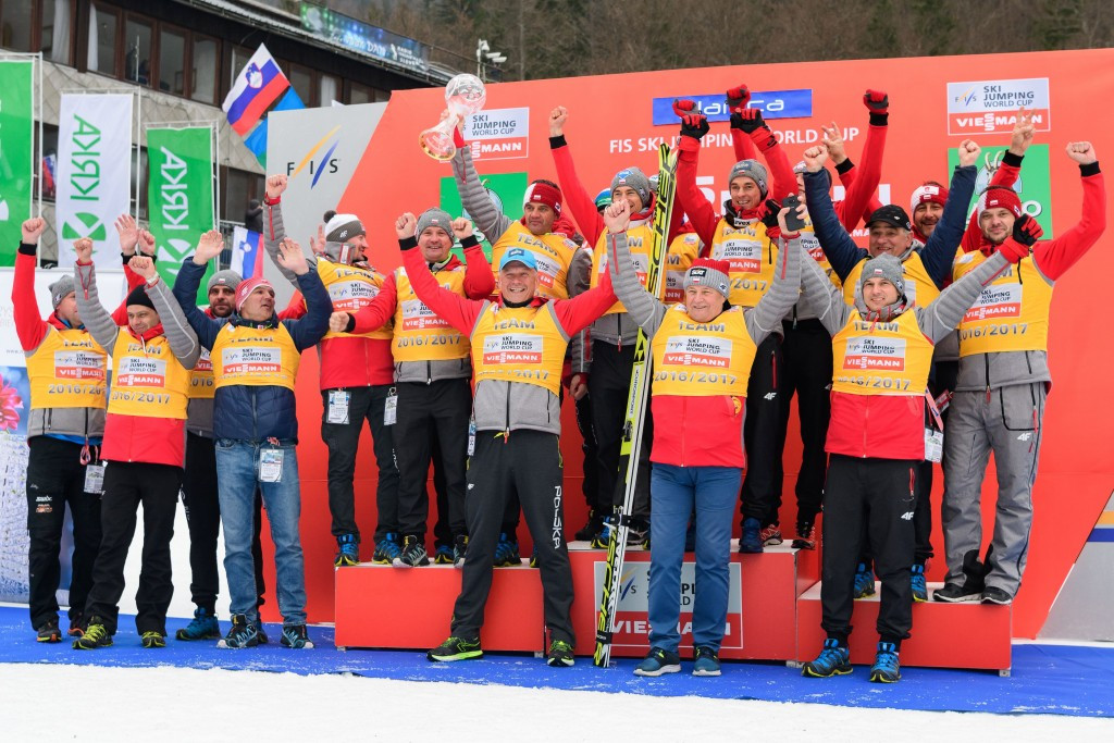 Nations Cup champions Poland select ski jumping squad
