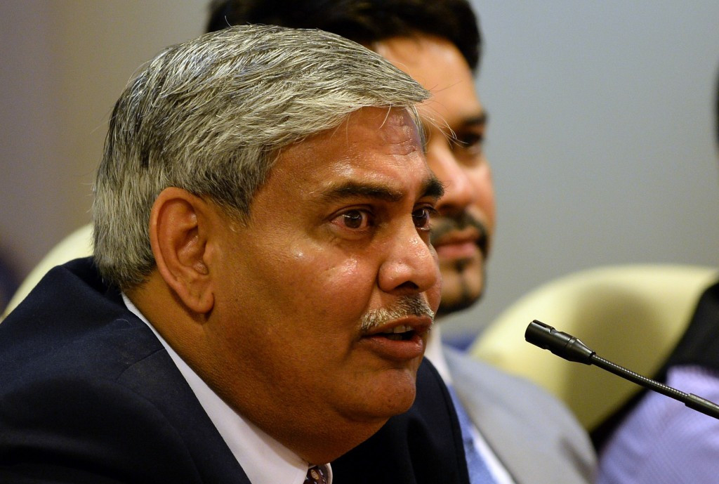 Shashank Manohar had tendered his resignation in March ©Getty Images