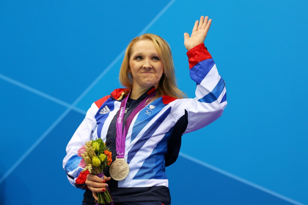 Charlotte Henshaw won two Paralympic medals ©Getty Images