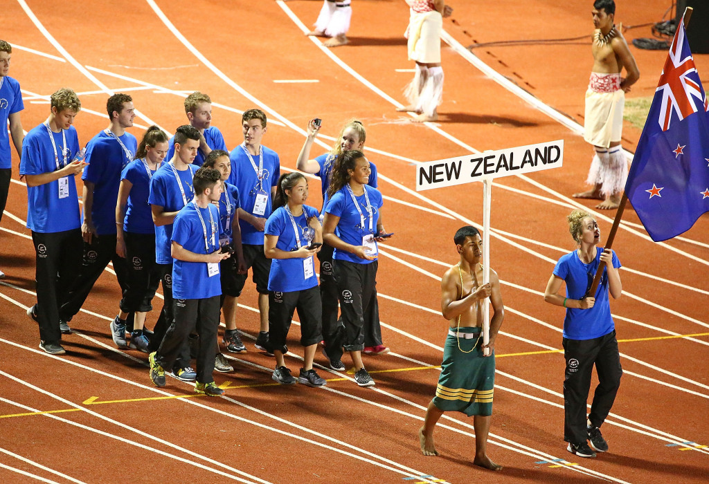 New Zealand won 20 medals at the 2015 Commonwealth Youth Games in Samoa ©Getty Images