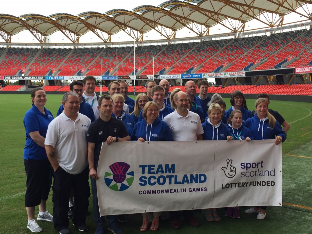 Team Scotland are in Gold Coast as part of its operational planning for next year's Commonwealth Games ©Team Scotland/Twitter