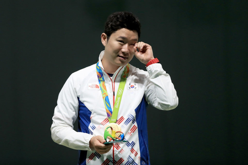 The 50m pistol event, won by Jin Jong-oh at Rio 2016, is another event set to be replaced ©Getty Images