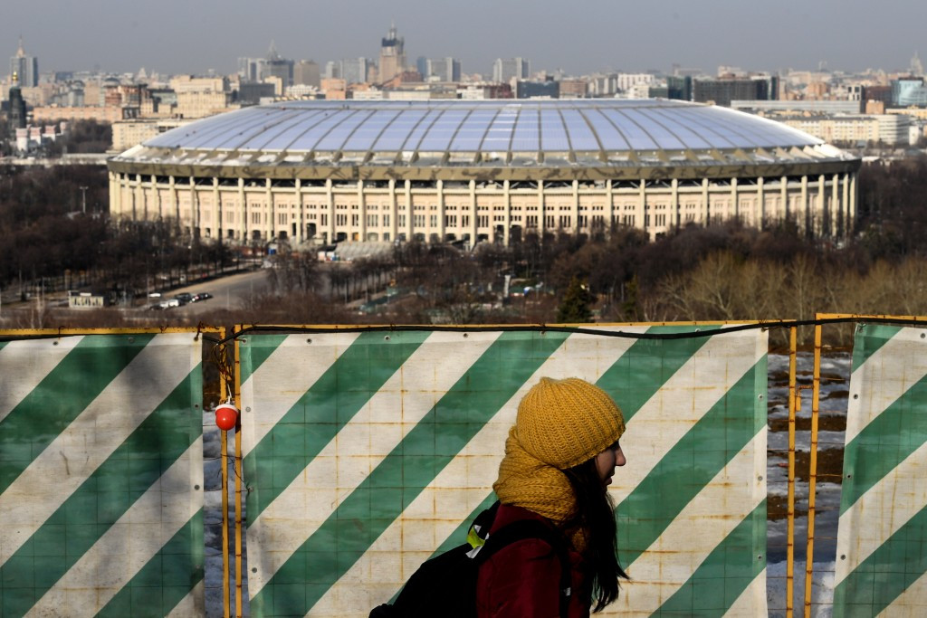 The Luzhniki Stadium in Moscow will host the opening match and the final at the 2018 FIFA World Cup ©Getty Images