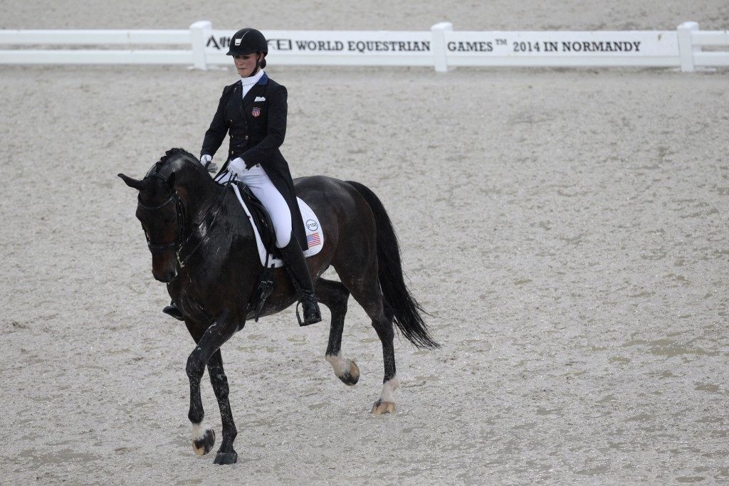 Adrienne Lyle is one of the riders involved ©Getty Images