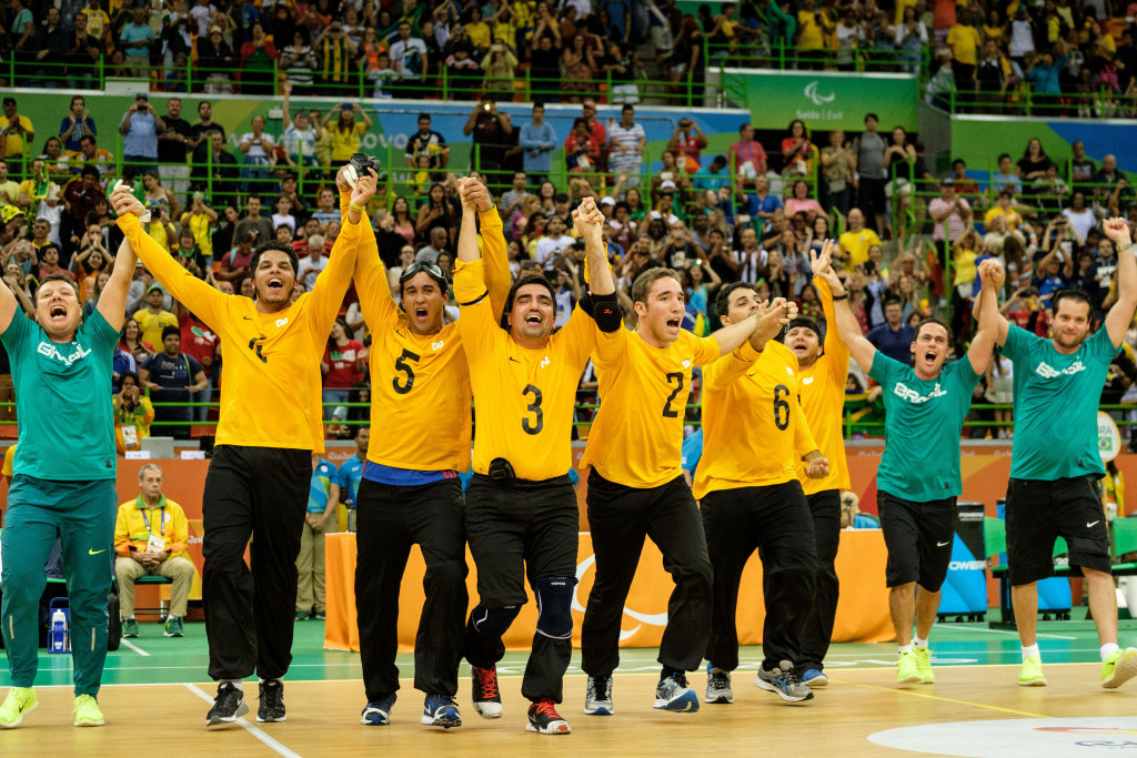 Brazil top men's and women's goalball world rankings