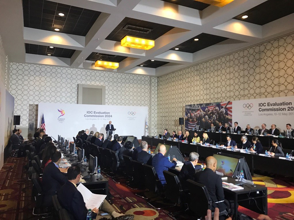 Two IOC members missing as Los Angeles 2024 Evaluation Commission inspection opens