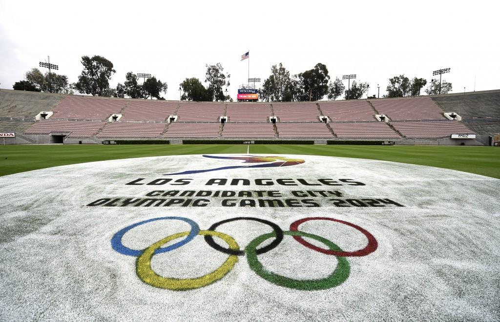 In pictures: Venue tours and meetings on day one of Los Angeles 2024 Evaluation Commission visit