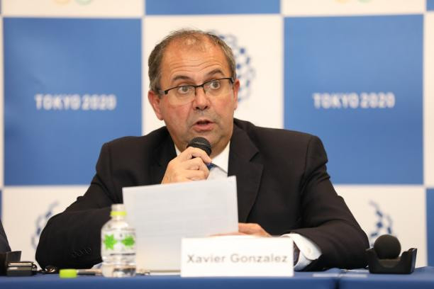 IPC chief executive Xavier Gonzalez was part of the delegation that travelled to Tokyo ©IPC