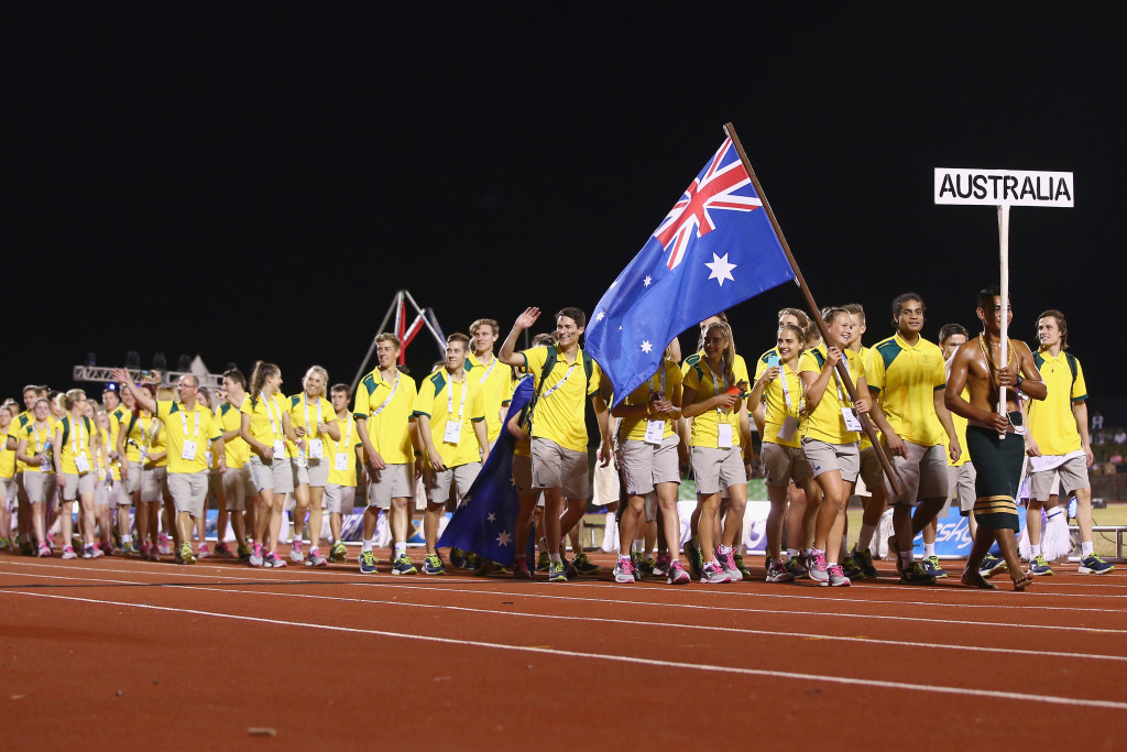 Australia finished top of the medals table at Samoa 2015 ©Getty Images