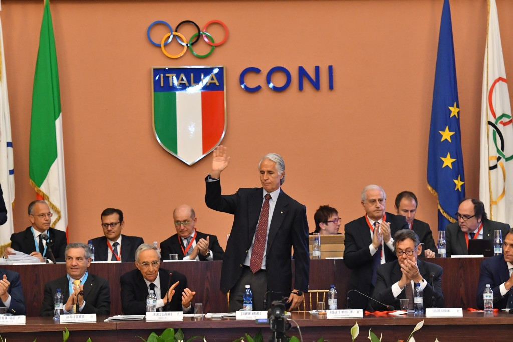 Malagò re-elected President of Italian National Olympic Committee