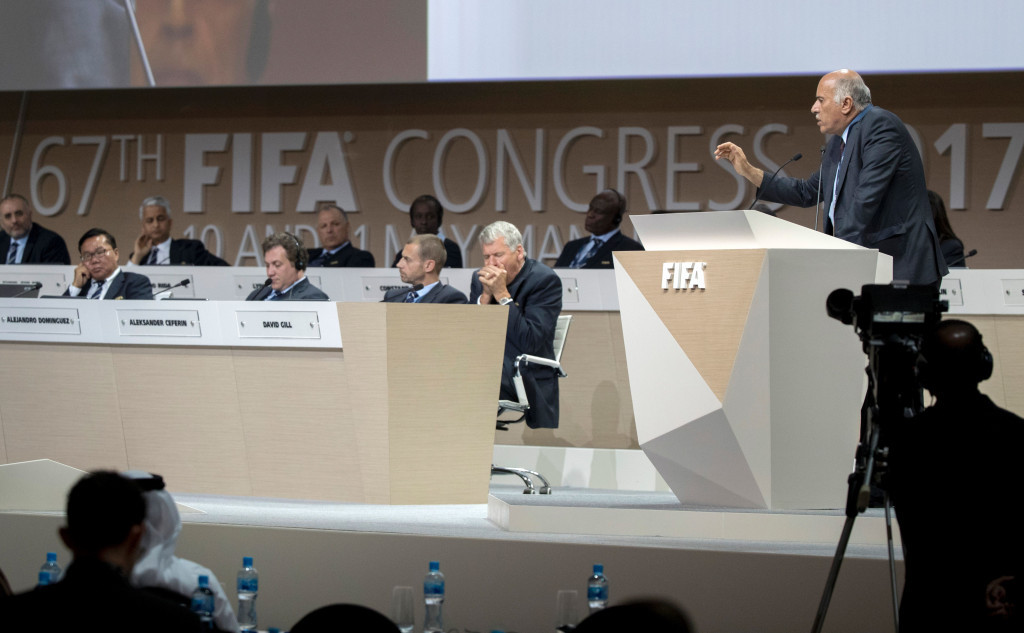 Infantino decides FIFA Council should rule on Israel-Palestine issue