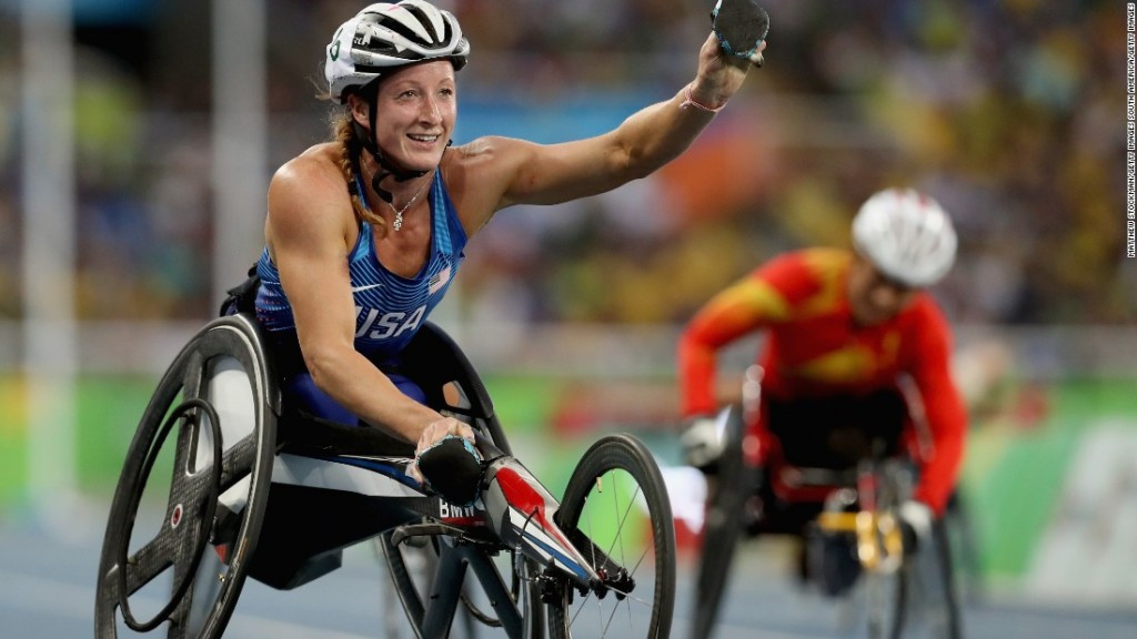 Tatyana McFadden is expected to be among the Paralympic champions competing in the  Paralympics Track & Field National Championships at UCLA ©Getty Images