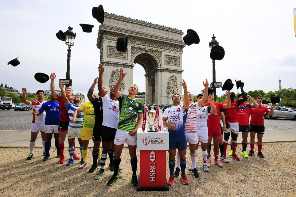 South Africa set sights on World Rugby Sevens Series title in Paris