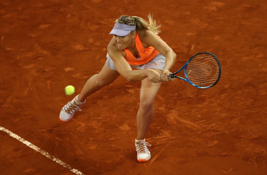 Maria Sharapova has faced criticism from a number of her fellow players following her return to the sport ©Getty Images