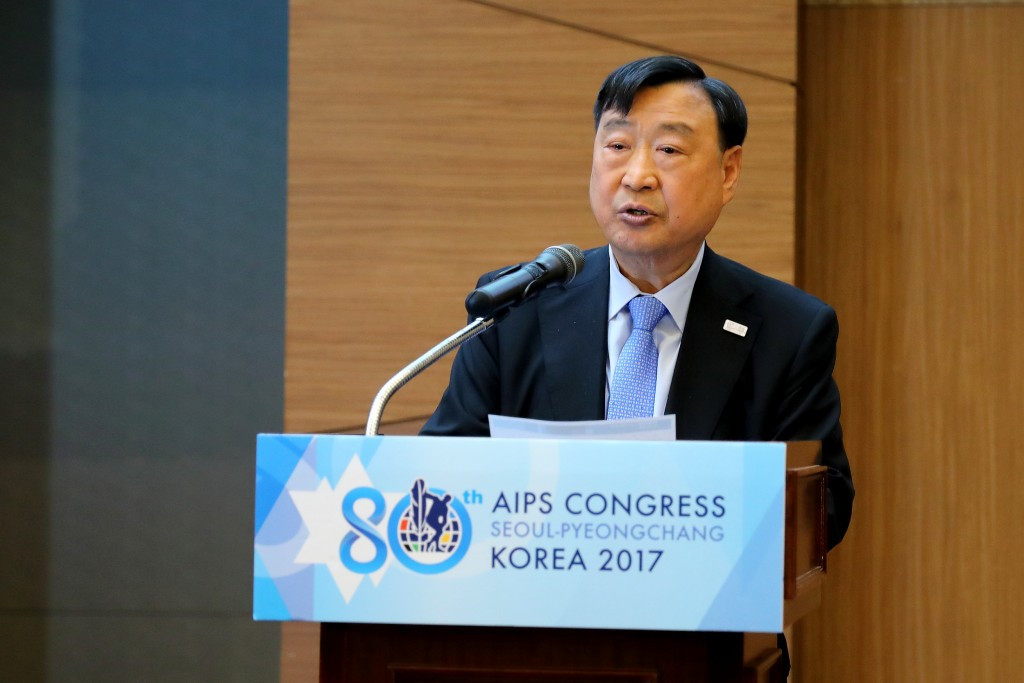 Pyeongchang 2018 give progress update to journalists at AIPS Congress