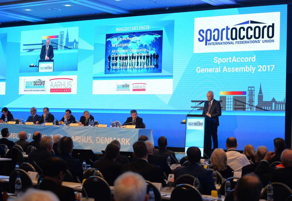 This year's SportAccord Convention was held in the Danish city of Aarhus ©Getty Images