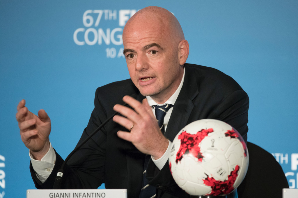 FIFA President Gianni Infantino has been accused of