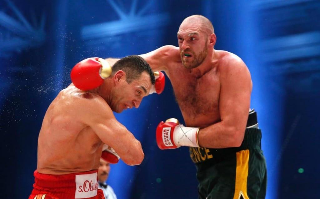 Tyson Fury in action against Wladimir Klitschko in November 2015  ©Getty Images