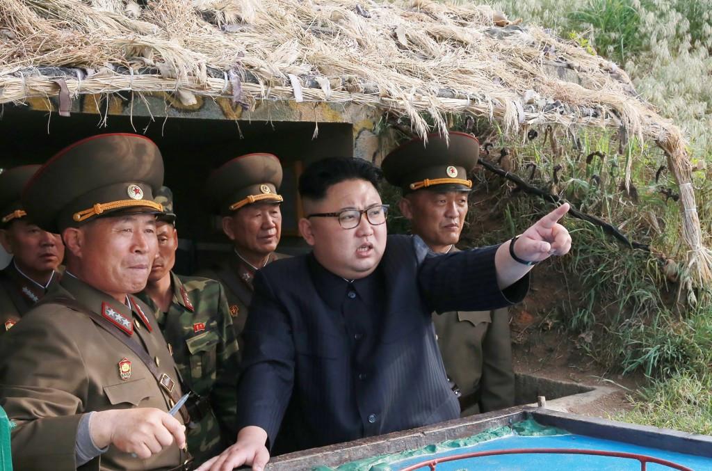 Tensions have risen after North Korean leader Kim Jong-un refused to halt missile tests ©Getty Images
