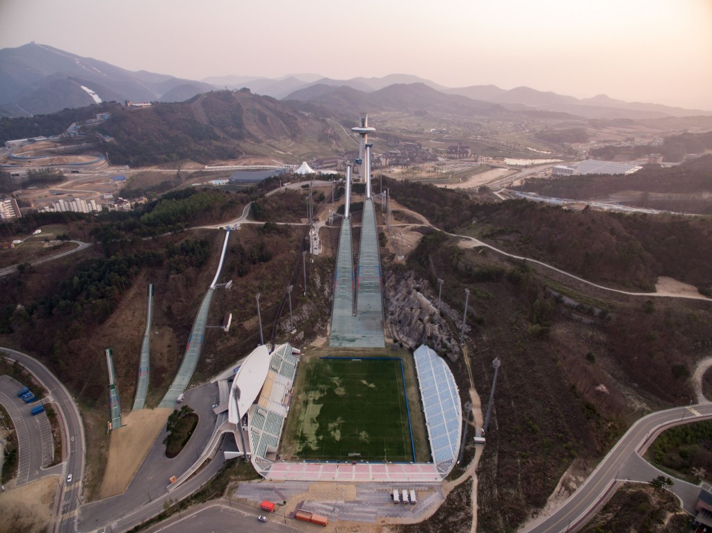 The IOC have stated there are no contingency plans to move the event from Pyeongchang should tensions rise further ©Getty Images
