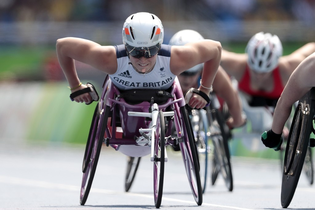 Kinghorn and Morrison break world records at Para Athletics Grand Prix
