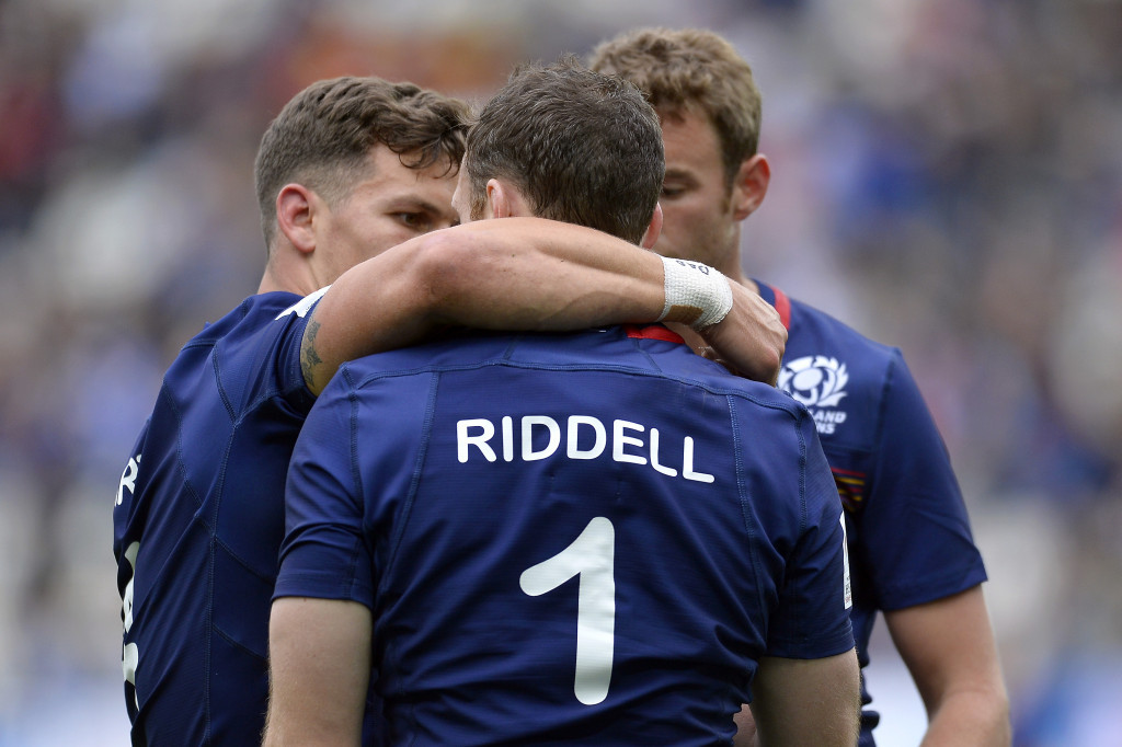 Scotland defeated South Africa to finish top of Group A in Paris today ©Getty Images