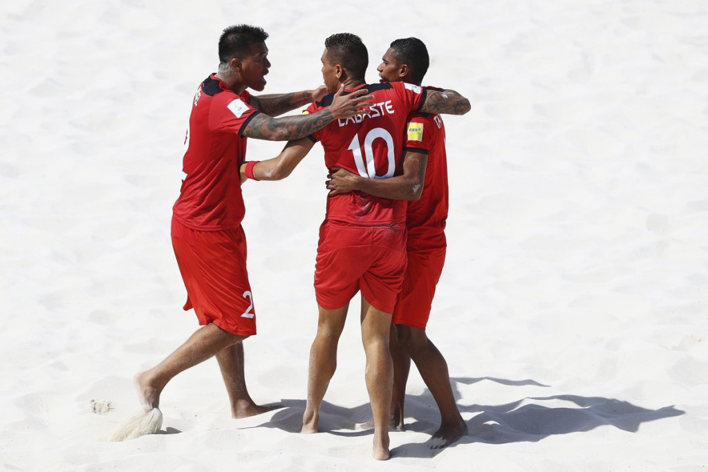 Tahiti's achievement earlier this month in winning a second successive silver at the FIFA Beach Soccer World Cup in The Bahamas could prove inspirational to Vanuatu ©OFC/Twitter