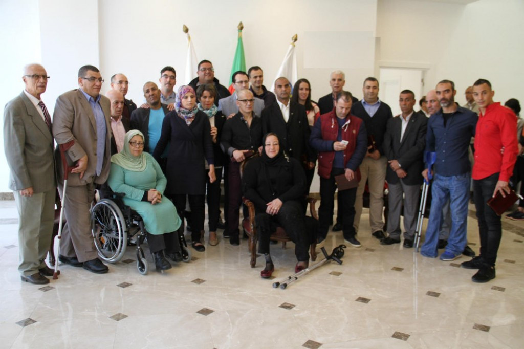Algerian Olympic Committee celebrate country's Para-athletes