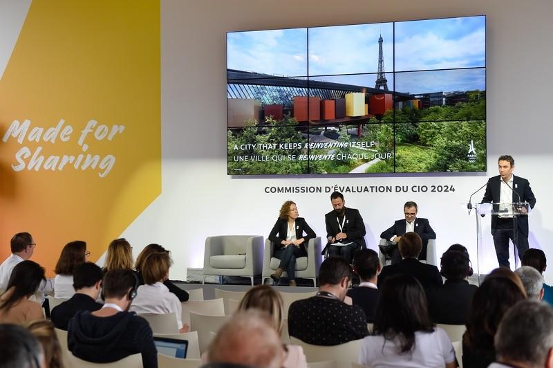 Paris 2024 present plans to IOC as Evaluation Commission visit begins