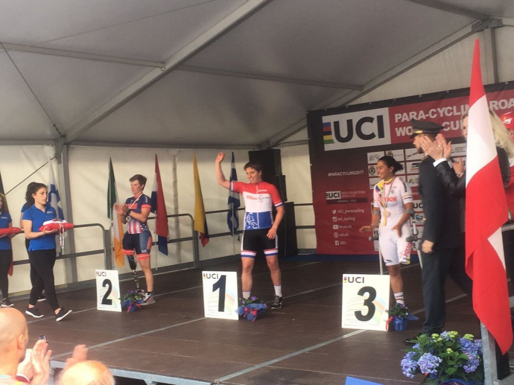 Norbruis strikes gold on final day of UCI Para-cycling Road World Cup