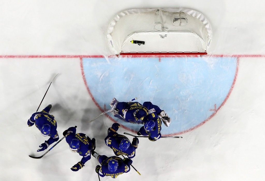 Sweden beat Denmark to book their place in the next round ©Getty Images