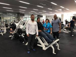 FASANOC's Lorraine Mar, second from right, is one of six regional secretary generals to have viewed potential pre-Tokyo 2020 Olympic Games training venues in Japan ©FASANOC