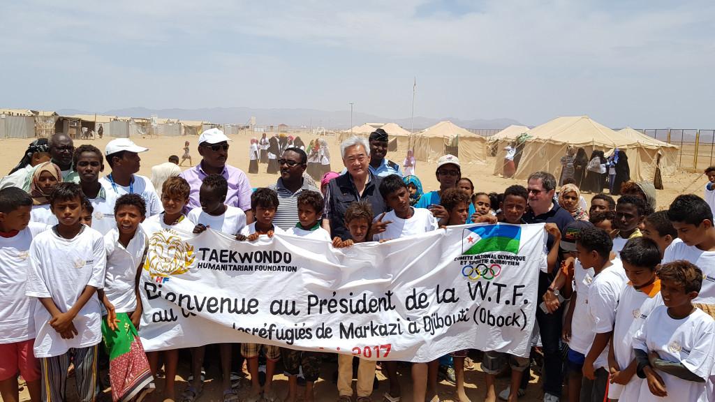 WTF President visits Djibouti as work of Taekwondo Humanitarian Foundation continues