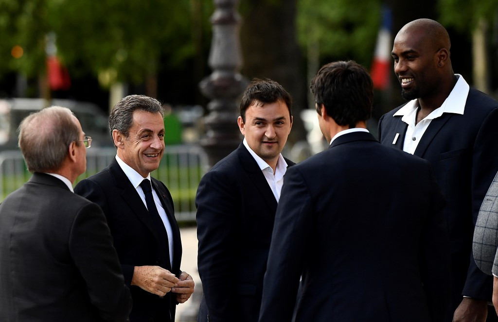 Sarkozy and Mika among VIPs as Paris 2024 host dinner for IOC Evaluation Commission