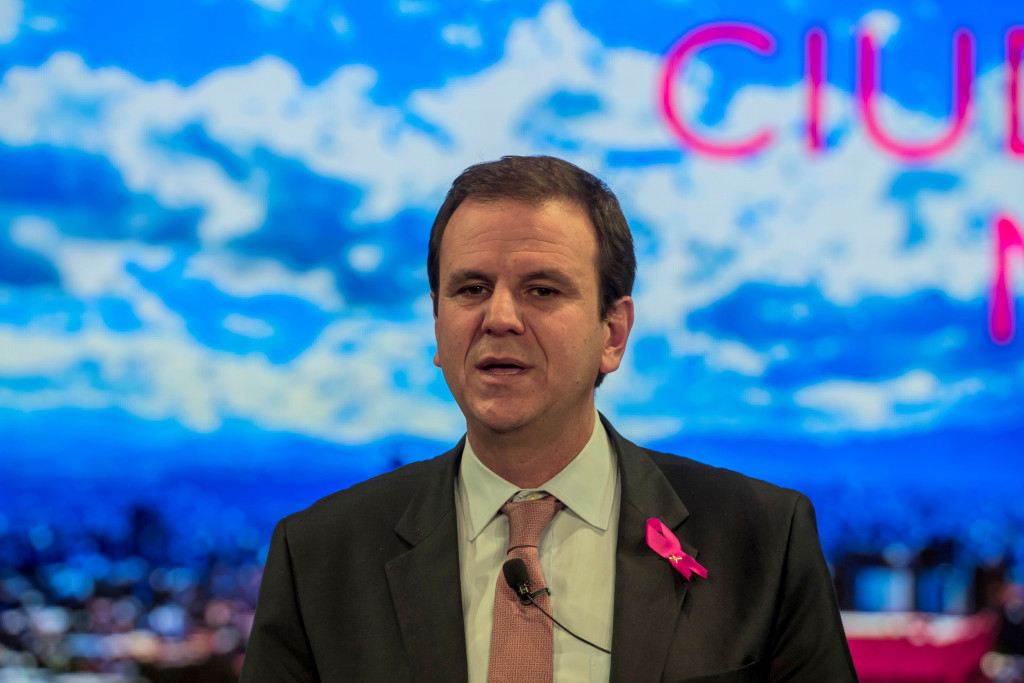 Former Rio de Janeiro Mayor Eduardo Paes was named last month in a corruption scandal linked to Rio 2016 ©Getty Images