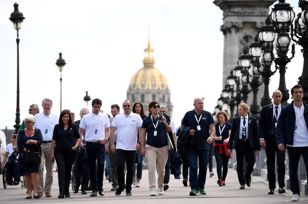 IOC Evaluation Commission inspect Paris 2024 venues