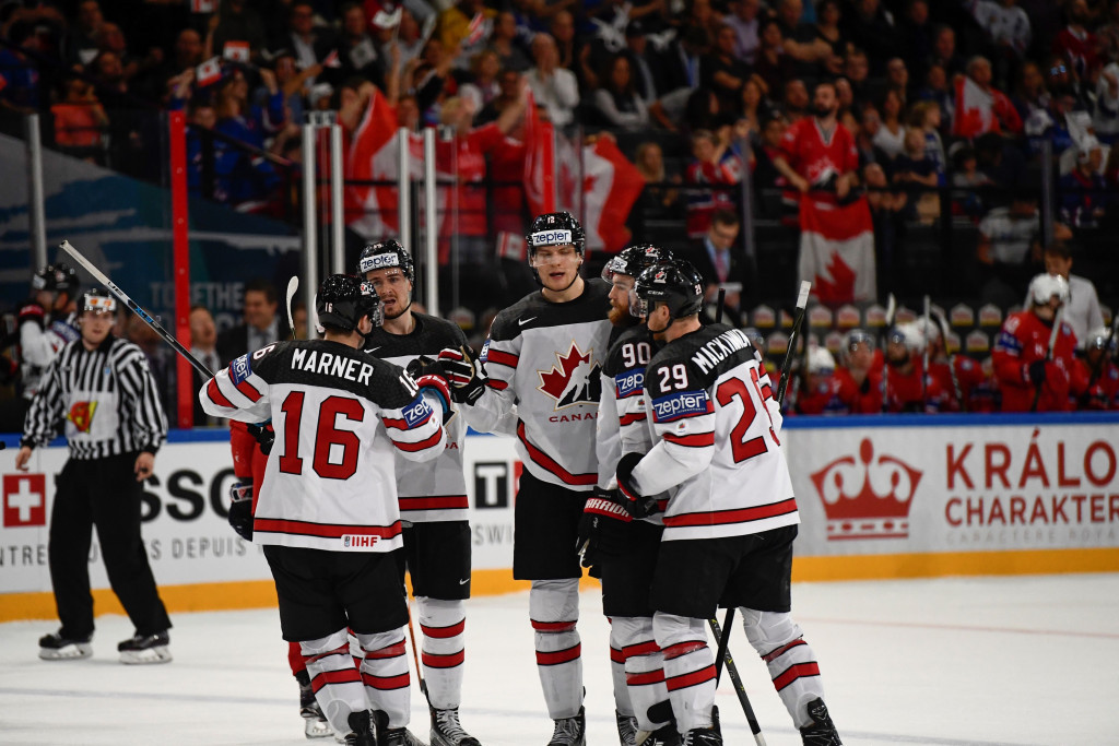 Defending champions Canada returned to winning ways at the IIHF World Championships today ©Getty Images