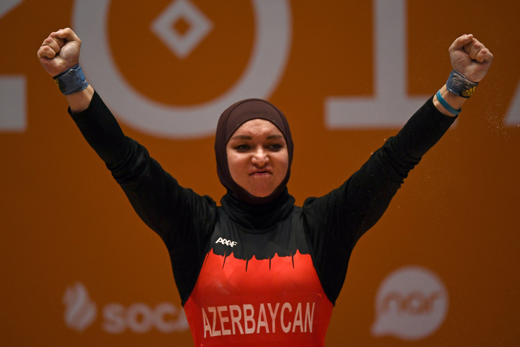 Weightlifting gold for hosts Azerbaijan at Islamic Solidarity Games