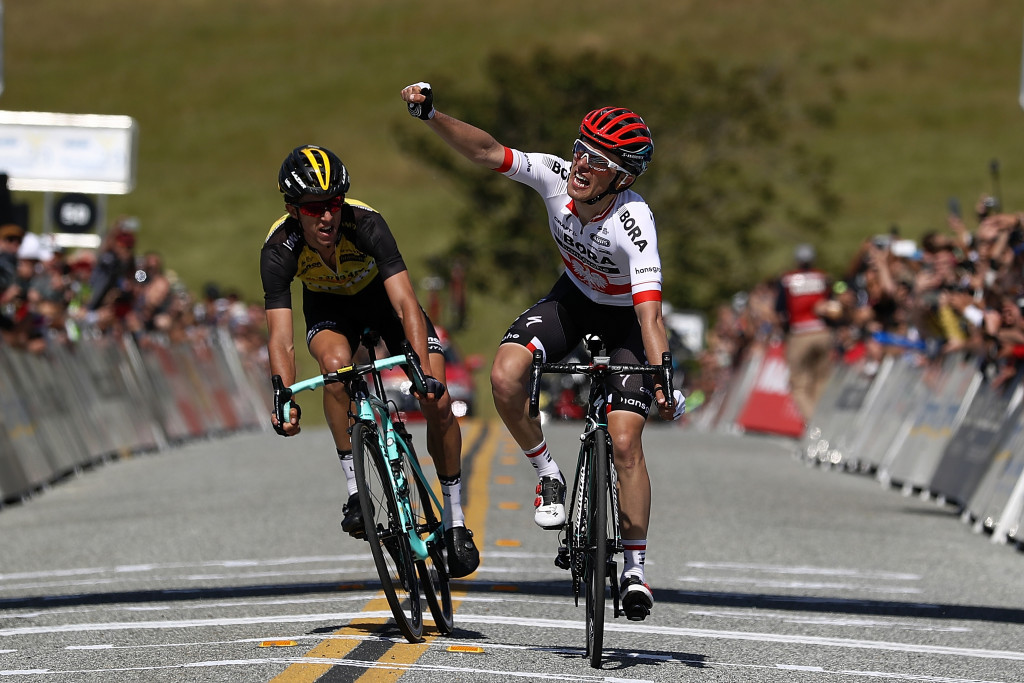 Majka moves into Tour of California race lead after stage two success