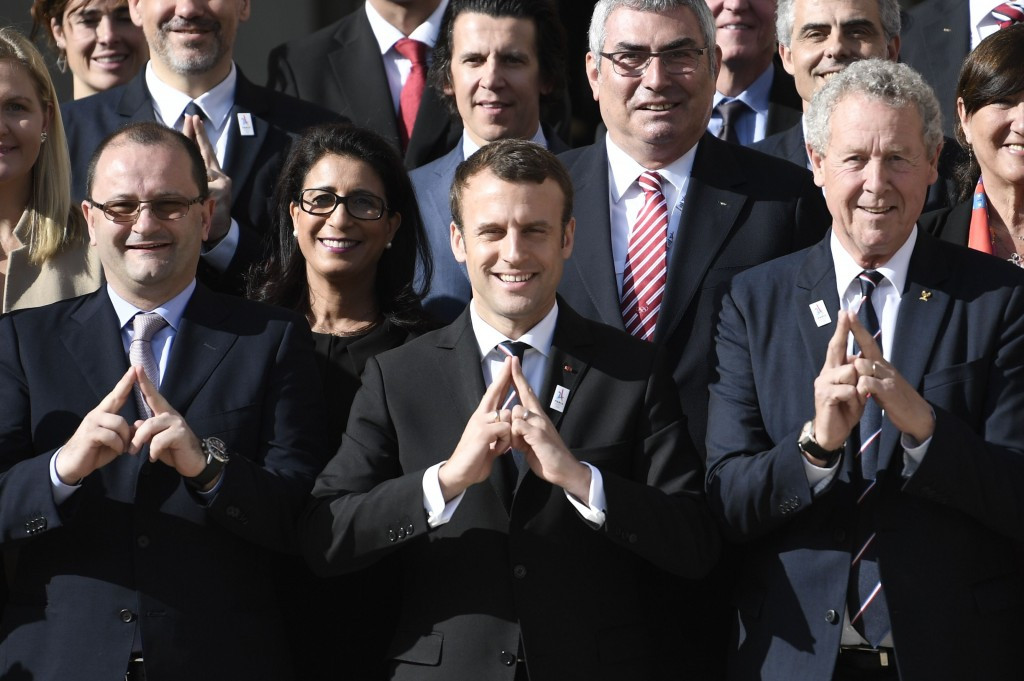 French President tells IOC Evaluation Commission he will be in Lausanne and Lima to support Paris 2024