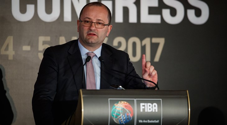 Patrick Baumann has called for more support to be given to wheelchair basketball ©FIBA